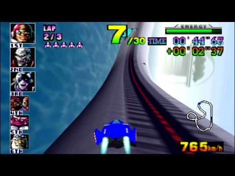 F-Zero X (N64) walkthrough - Big Blue
