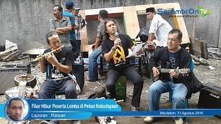 Fikar Hibur Peserta Lomba di Pekan Kebudayaan