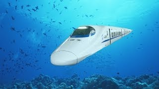 China's Underwater High-Speed Train to America  China Uncenso...