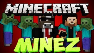 Minecraft MINEZ: HUGE ARMY OF RUSHERS