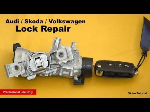 Audi / Skoda / Volkswagen Lock Repair ✔