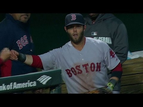 Video: Pedroia dives to rob Hardy of a hit