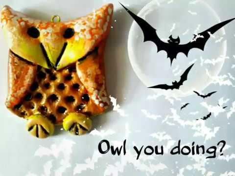 HALLOWEEN DIY OWL YOU DOING