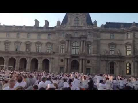 White Dinner 2013 at Louvre