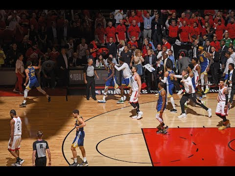 Kawhi Leonard Nearly Wins NBA Finals but Steph Curry and Klay Thompson Come Through | Game 5 Ending