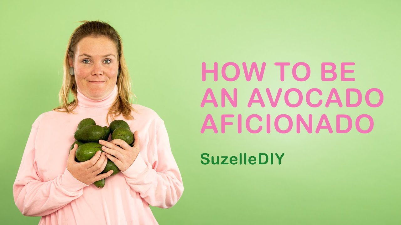 How to be an Avocado Aficionado-graphic