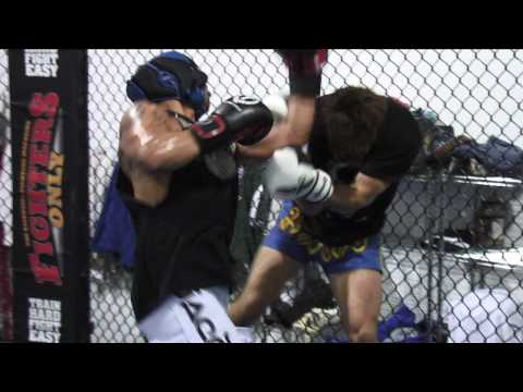 Wanderlei Silva and Jorge Lopez training highlight at Wand Fight Team