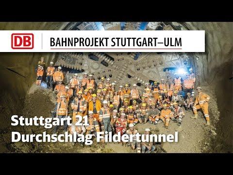 Durchschlag Fildertunnel