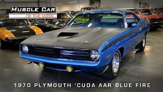Nonton Muscle Car Of The Week Video#78: 1970 Plymouth 'Cuda AAR in EB5 Blue Film Subtitle Indonesia Streaming Movie Download