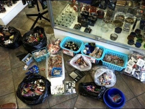 Bath - San Bernardino County sheriff's deputies seized more than $50000 worth of bath salts and synthetic drugs Thursday, May 23, from several High Desert smoke sh...
