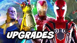 Avengers Infinity War New Armor Upgrades Scene and Trailer Update