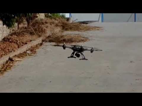 JXD 506G Blomiky 506HG Professional Cheap Gopro carrier RC Quadcopter Flying test