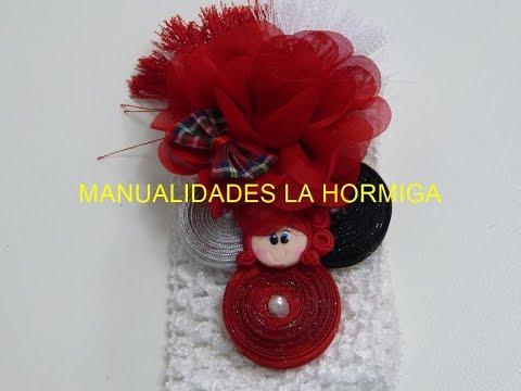 Bandita para Niñas, PAP,  Tutorial, decoración balacas Bebe, cintillos fáciles