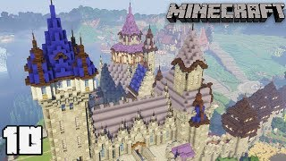 Let's Build a Castle #10 WIZARD TOWER : MINECRAFT 1.13.2 Survival Let's Play