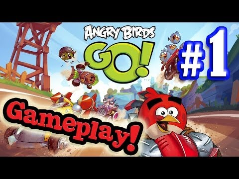 evantubehd's - Click here to see PART 2 - TELEPODS! http://youtu.be/yu0wnAkwpdk Here's the EvanTubeHD preview of the new Angry Birds GO! app which hits the US on December 1...
