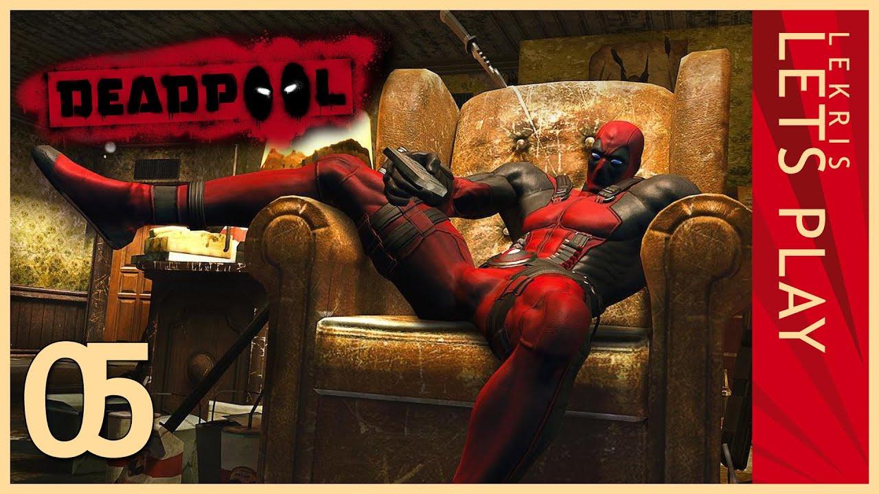Deadpool #05 - Boner engaged! - Let's Play Deadpool   HD