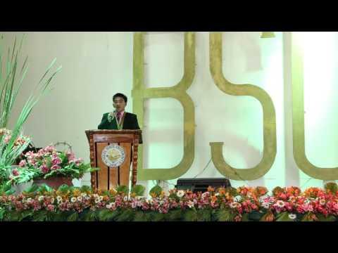 Speech of Mr. Abner O. Lawangen (partial)
