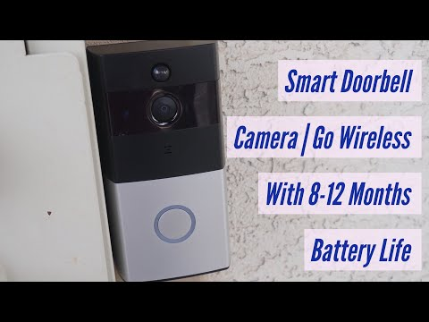 Smart Doorbell Video Camera | Go Wireless With 8-12 Month Battery Life