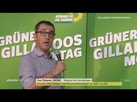 Cem Özdemir beim politischen Frühschoppen der GRÜNEN  ...
