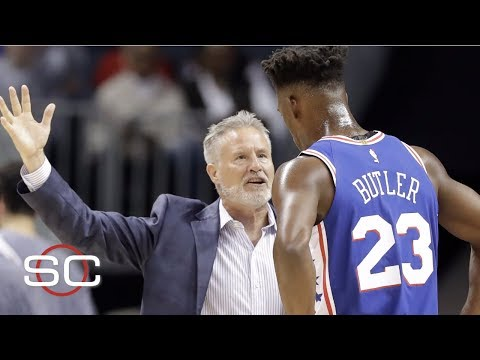 Video: Pressure on Brett Brown to fix Jimmy Butler situation | NBA on ESPN