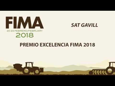 FIMA 2018 PREMIO EXCELENCIA SAT GAVILL