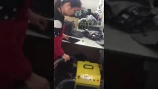 máy cắt chỉ thừa tự động