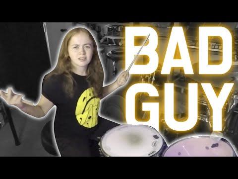 Bad Guy - Billie Eilish - Drum Cover