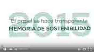 Memoria Sostenibilidad 2015 Sector Papel