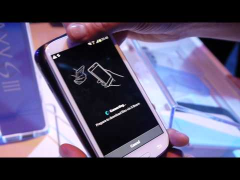 Samsung Galaxy S III: S Beam feature demo