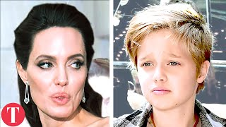 Video Inside The Secret Lives Of Angelina Jolie And Brad Pitt's Children MP3, 3GP, MP4, WEBM, AVI, FLV Maret 2019