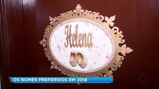Miguel e Helena foram os nomes mais escolhidos para os bebês em 2018