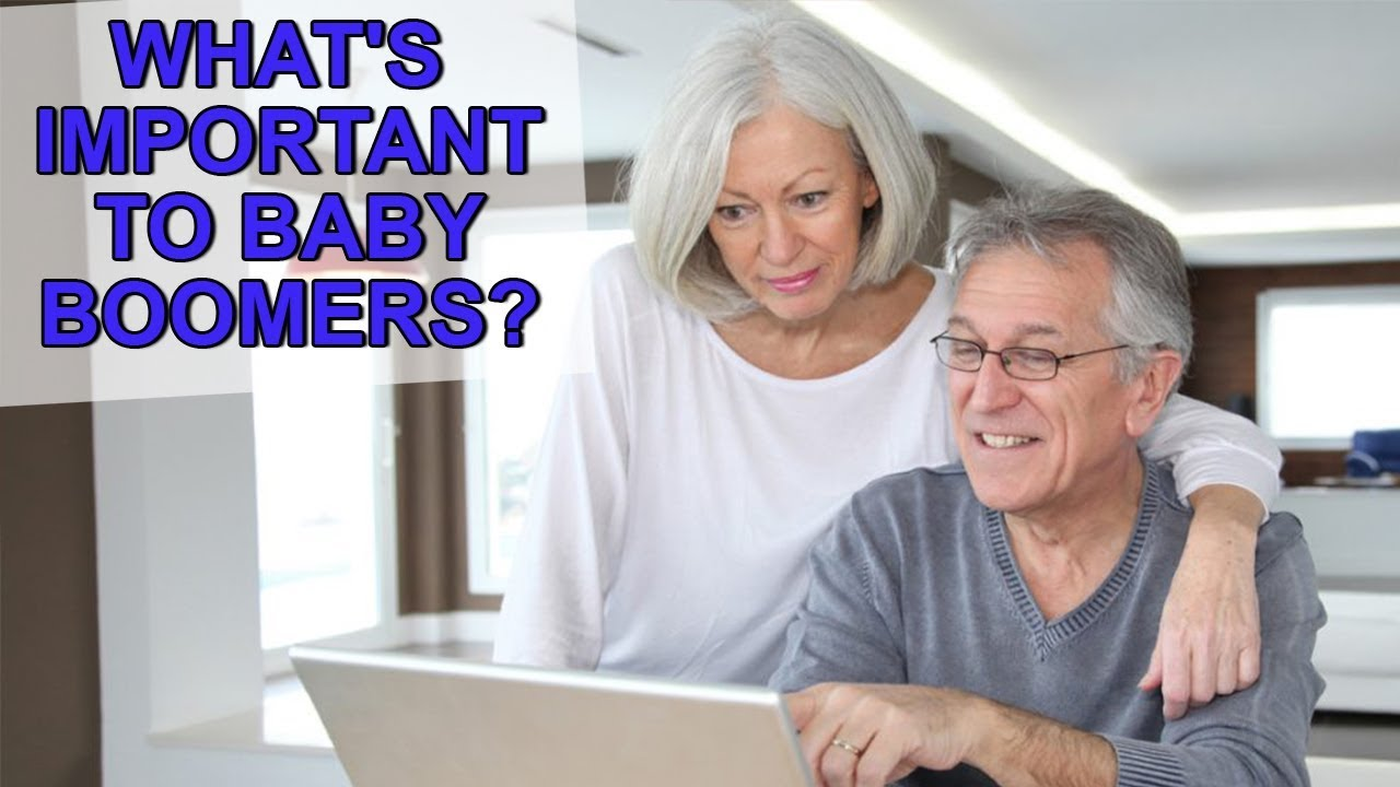 What Baby Boomers Care About When Buying and Selling