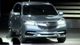 2014 Acura MDX Prototype Reveal At 2013 NAIAS