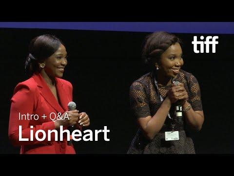 LIONHEART Cast and Crew Q&A   TIFF 2018