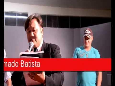 Com Vilmar Abatti em Tupãssi cantando a Musica - Vem Morena