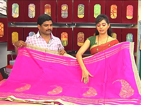 Latest Collection of Fancy Sarees | Sogasu Chuda Tarama | Vanitha TV 03 July 2015 10 24 AM