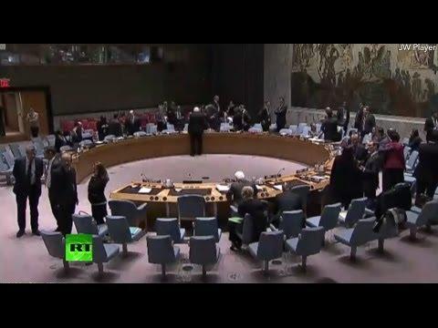 Очередная встреча Совета Безопасности ООН