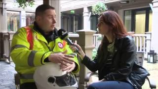 Blood Bike Leinster Featured on Dublin County matters (Irish TV)