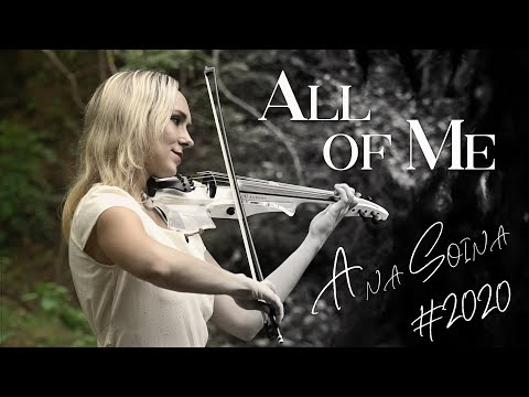 "John Legend  ""All of Me"" Cover by Anastasia Soina"