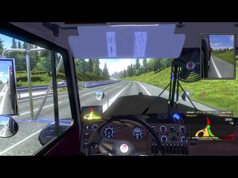 8V92 engine's sound for W900A Kenworth v6