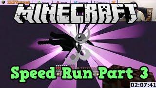 Minecraft Xbox 360 SPEED RUN: Part 3 - Killing the Dragon!