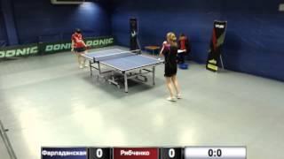 Фарладанская А. vs Рябченко Н.