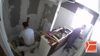 Bathroom Remodeling – 2 min. (time-lapse)