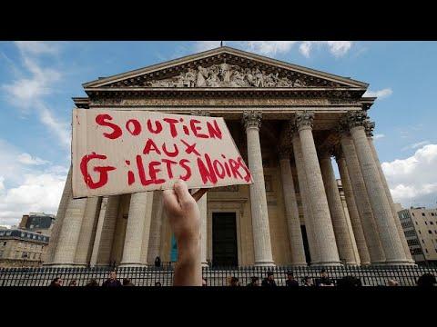 Frankreich: »Schwarzwesten«-Protest von Migranten in Paris