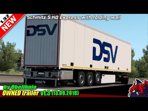 Schmitz S.KO EXPRESS with Folding Wall v1.3.1