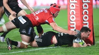 Lions v Crusaders Quarter Final 3 2016 | Super Rugby Video Highlights