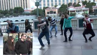 Video Flash Mob Proposal in Las Vegas MP3, 3GP, MP4, WEBM, AVI, FLV Juni 2019
