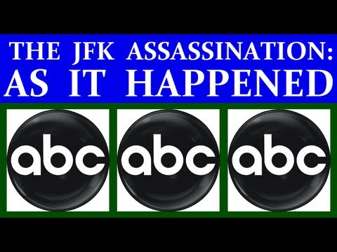 Coverage - Two hours of live, as-it's-happening ABC-TV coverage of the news surrounding the assassination of U.S. President John F. Kennedy on Friday, November 22, 1963...