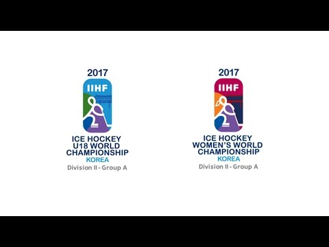 2017 IIHF ICE HOCKEY U-18 WORLD CHAMPIONS LIVE / GANGNEUNG HOCKEY CENTER