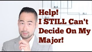 "I answer a viewer's email where she needs help on deciding a major. She has 3 very different majors and is feeling the pressure on making the decision yesterday. We break down her email line-by-line and give her real tips to get things back in control.My Website: http://www.101mentoring.com/My Products and Services:http://www.101mentoring.com/productsandservicesGrab a free copy of my ebook, The Unfair Advantage:http://www.101mentoring.com/ebook/unfairadvantageAsk me a question and I'll answer it in a future video:http://www.101mentoring.com/askyourquestionMy other video ""How To Choose A College Major""https://www.youtube.com/watch?v=JpvOjsYDCukIt's second year and your college advisor is telling you that by tomorrow, you'll need to declare a college major and you're starting to feel the pressure.  It starts with not knowing what to major in, then questioning if you'll ever graduate, followed by whether you're going to find a job and finally if you do find a job, will you make decent money? The anxiety keeps piling on and..I'm here to tell you STOP IT. RELAX. BREATHE.This is just the classic maneuver of everyone in your situation ""Catastroph-izing"" your future when there are millions of variables at play - simply put you cannot predict your future.  Sure you can help mold it, shape it, steer it and that's why we do what we do but to fear the worst is not productive and will only give you high blood pressure.Now i've done a video already on ""How To Choose A College Major"" and that's a great starting point. But more recently, I got an email from a viewer who is under the gun to choose a college major and we:- Go through her entire email line-by-line and break down exactly what is going on- Provide real tips that she can use for next steps so that she can regain control of the situation- Reveal the struggle and anxiety she is experiencing as she tries to rush to a decision- Talk about the reality of the ""pressure"" to choose a college major"